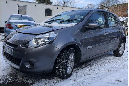 2011 Renault Clio1149cm3 benzines, 5 ajtós, manuális váltóval (EX61 OCO)