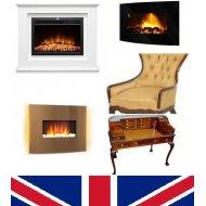Használt bútorok - kandallók - antik tárgyak Angliából RENDELÉSRE (2)